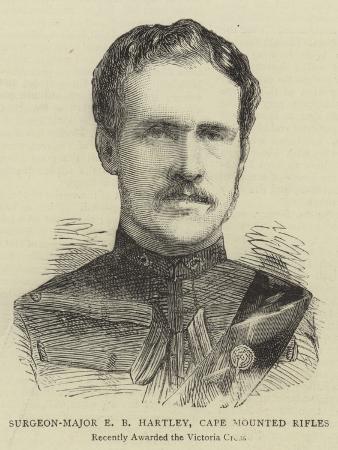 Surgeon-Major E B Hartley, Cape Mounted Rifles