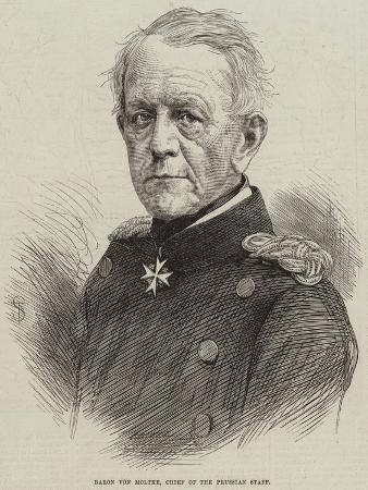 Baron Von Moltke, Chief of the Prussian Staff
