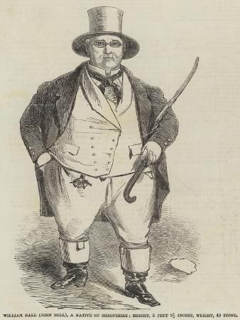 William Ball (John Bull), a Native of Shropshire