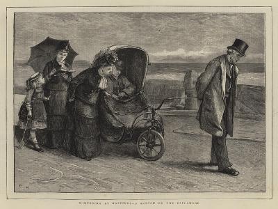 Wintering at Hastings, a Sketch on the Esplanade