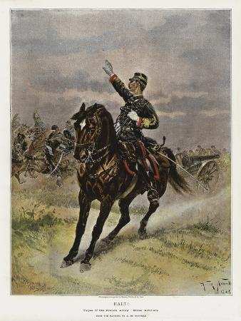 Halt!, Types of the French Army, Horse Artillery