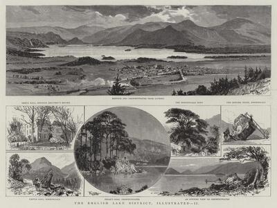 The English Lake District, Illustrated, II