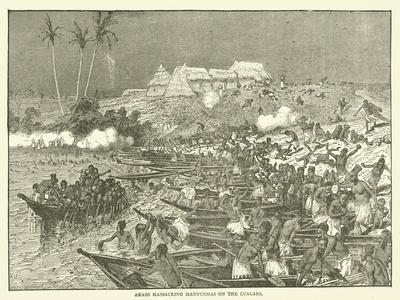 Arabs Massacring Manyuemas on the Lualaba