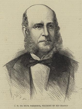 J M Da Silva Paranhos, Viscount of Rio Branco