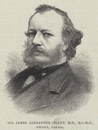 Sir James Alexander Grant, Md, Ottawa, Canada
