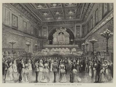 Buckingham Palace Illustrated, the Ball Room