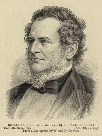 Edward Geoffrey Stanley, 14th Earl of Derby