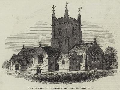 New Church at Surbiton, Kingston-On-Railway