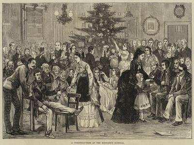 A Christmas-Tree at the Middlesex Hospital