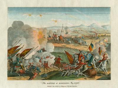 The Battle of Ramillies, 12th May 1706, 1781