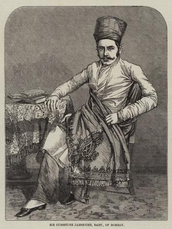 Sir Cursetjee Jamsetjee, Baronet, of Bombay