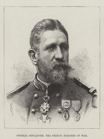 General Boulanger, the French Minister of War