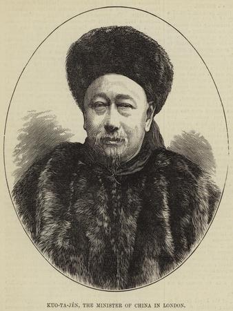 Kuo-Ta-Jen, the Minister of China in London