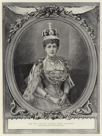 Her Most Gracious Majesty Queen Alexandra