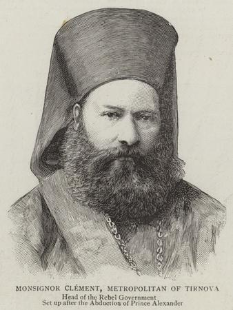 Monsignor Clement, Metropolitan of Tirnova