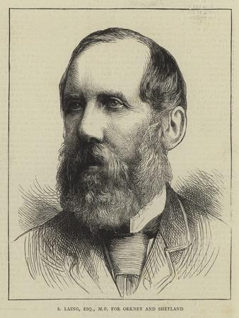 S Laing, Esquire, Mp for Orkney and Shetland