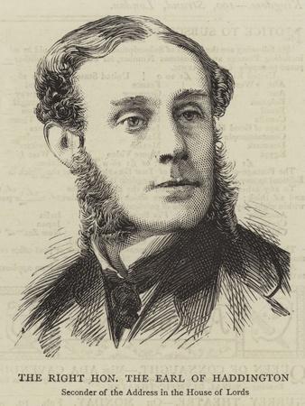 The Right Honourable the Earl of Haddington
