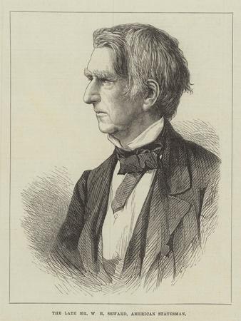 The Late Mr W H Seward, American Statesman