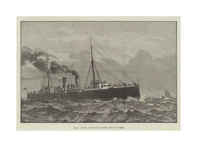 HMS Latona, Protected Cruiser, Built of Steel