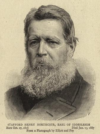 Stafford Henry Northcote, Earl of Iddesleigh