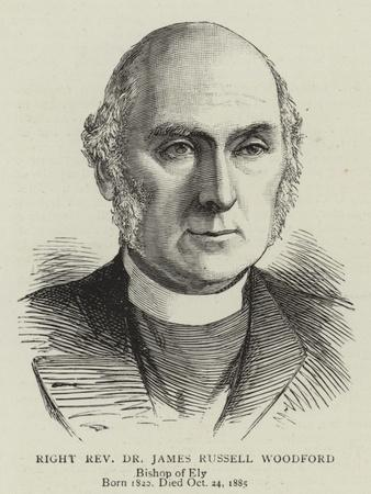 Right Reverend Dr James Russell Woodford
