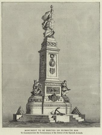 Monument to Be Erected on Plymouth Hoe