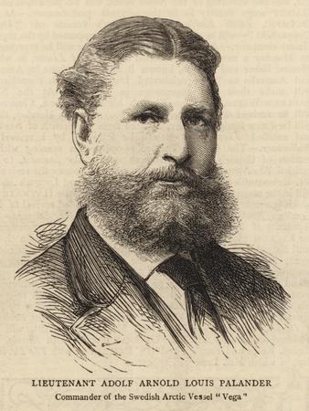 Lieutenant Adolf Arnold Louis Palander