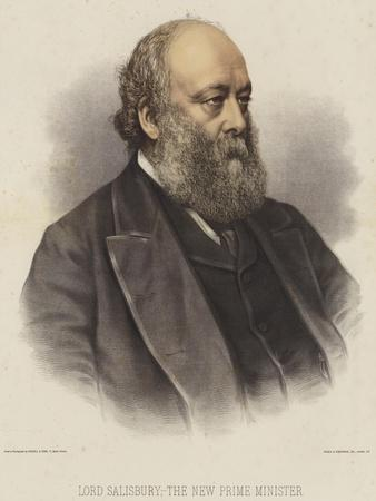 Lord Salisbury, the New Prime Minister