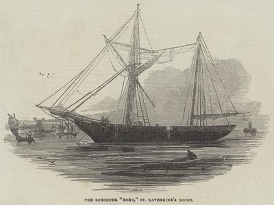 The Schooner Echo, St Katherine's Docks