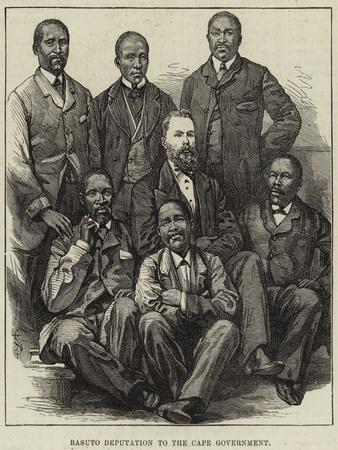 Basuto Deputation to the Cape Government