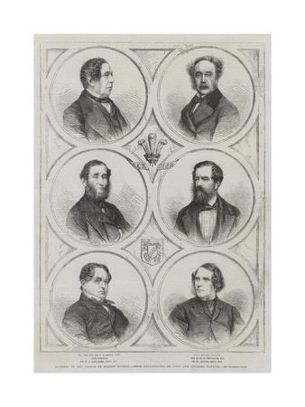 Members of the Prince of Wales's Council