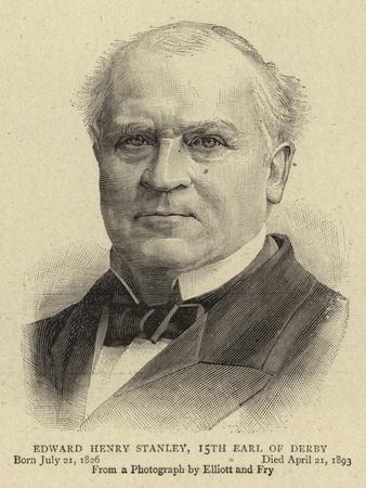 Edward Henry Stanley, 15th Earl of Derby