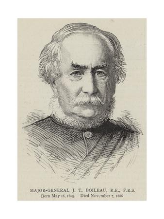 Major-General J T Boileau, Re, Frs