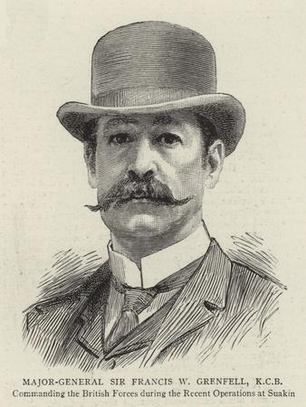 Major-General Sir Francis W Grenfell