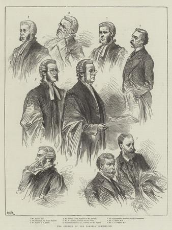 The Opening of the Parnell Commission