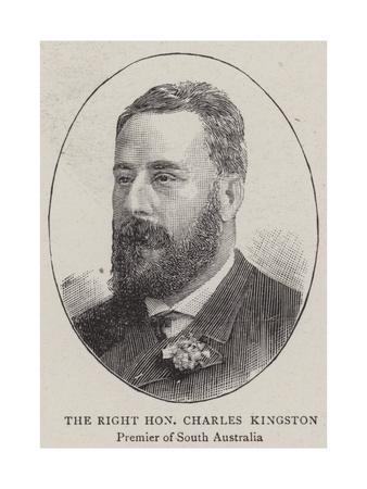 The Right Honourable Charles Kingston