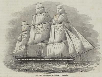 The New American Line-Ship Victoria