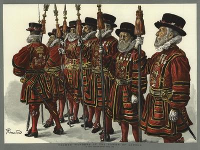 Yeomen Warders of the Tower of London