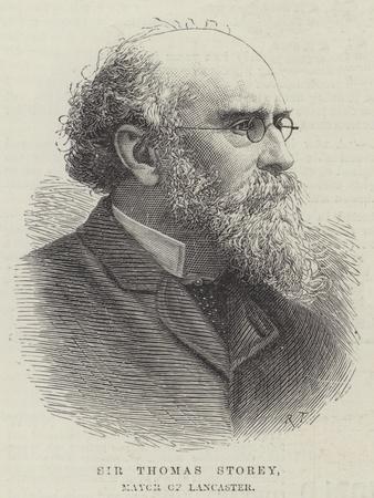 Sir Thomas Storey, Mayor of Lancaster