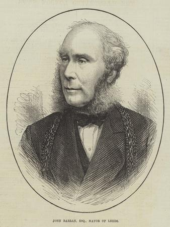 John Barran, Esquire, Mayor of Leeds