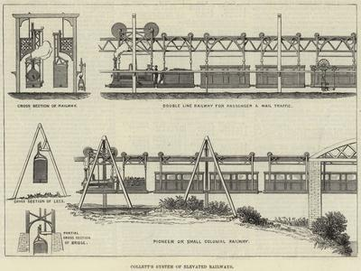Collett's System of Elevated Railways