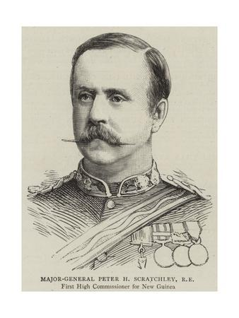Major-General Peter H Scratchley, Re