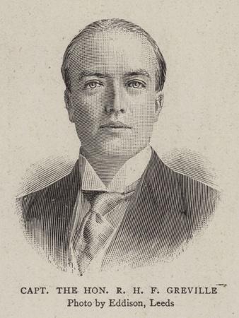 Captain the Honourable R H F Greville