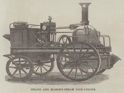 Shand and Mason's Steam Fire-Engine