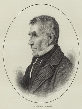 The Right Honourable J W Henley