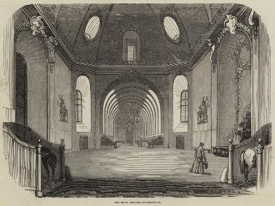The Royal Stables, at Chantilly