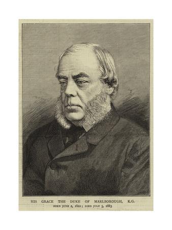 His Grace the Duke of Marlborough