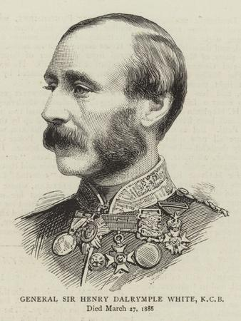 General Sir Henry Dalrymple White