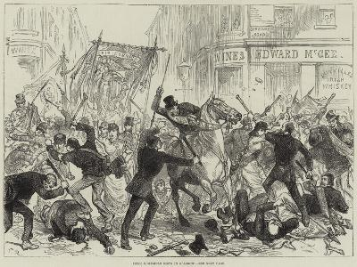 Irish Home-Rule Riots in Glasgow