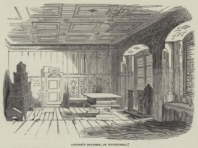 Luther's Chamber, at Wittenberg